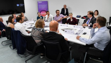 Senior sustainability and CSR professionals from a range of sectors convened for the roundtable discussion
